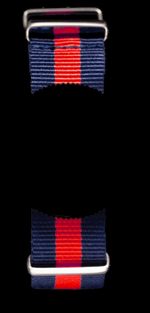 Navy Blue & Red NATO