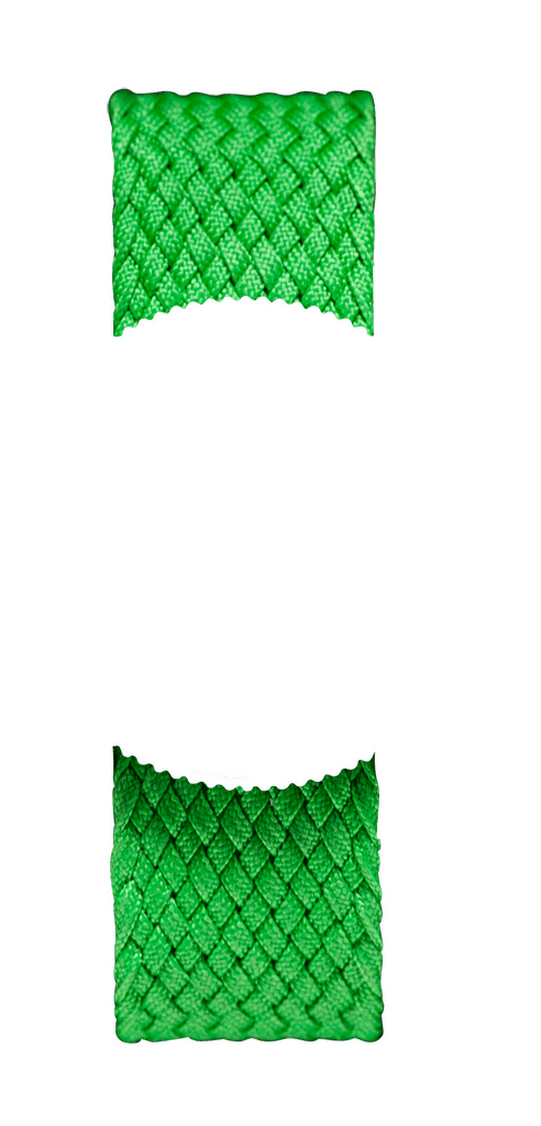 Green Braided Perlon NATO